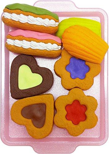 Japanese Cookie Erasers