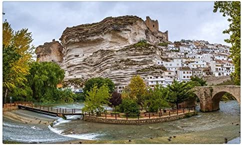 España Crag Albacete ciudades sitios de viajes postal Post tarjeta: Amazon.es: Oficina y papelería