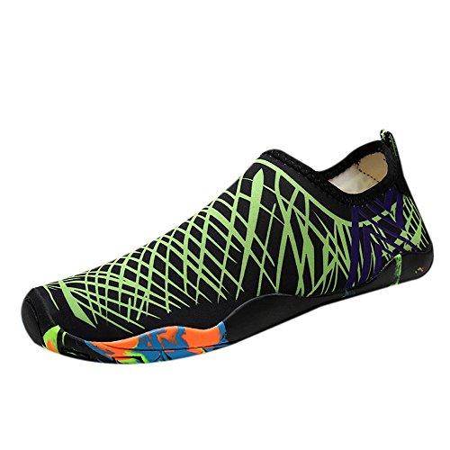 ( Women Men Water Sports Shoes Quick Dry Soft Barefoot for Diving Swim Surf Aqua Walking shoes)