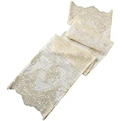 Florence Wedding Collection Table Runner, Ivory
