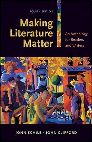 Amazon making literature matter an anthology for readers and making literature matter an anthology for readers and writers 4th edition fandeluxe Image collections