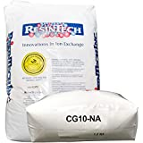 ResinTech CG10-Na: Premium Water Softener Ion-exchange Cation Resin 10% Crosslinked, 1 cu.ft.
