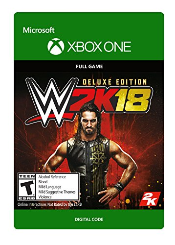 WWE 2K18: Digital Deluxe Edition - Xbox One [Digital Code] by Take-Two