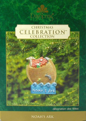 (DaySpring Noah's Ark #18023 Christmas Ornament Celebration Collection Dated 2002)