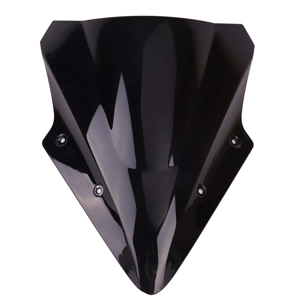 KEMIMOTO Motorcycle Black Windscreen Windshield For Kawasaki Ninja 650 Windshield ER6F 2012 2013 2014 2015 2016 2017 by KEMIMOTO (Image #1)