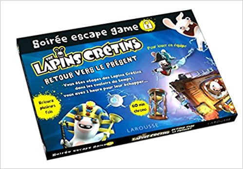 Amazon Fr Soiree Escape Game Lapins Cretins Livres