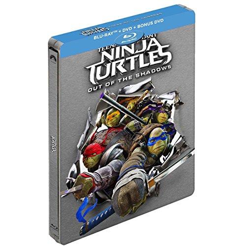 Tortugas Ninja: fuera de las sombras Blu-Ray METALICA ...