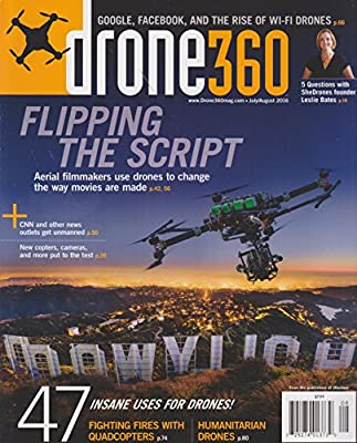Drone 360 Magazine July/August 2016