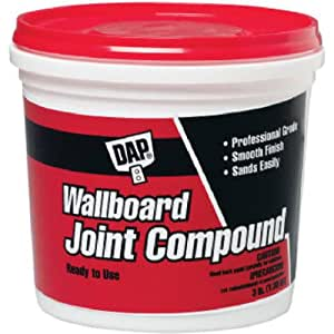 Dap 10114 1 gallon lightweight wallboard joint compound for Bathroom joint compound
