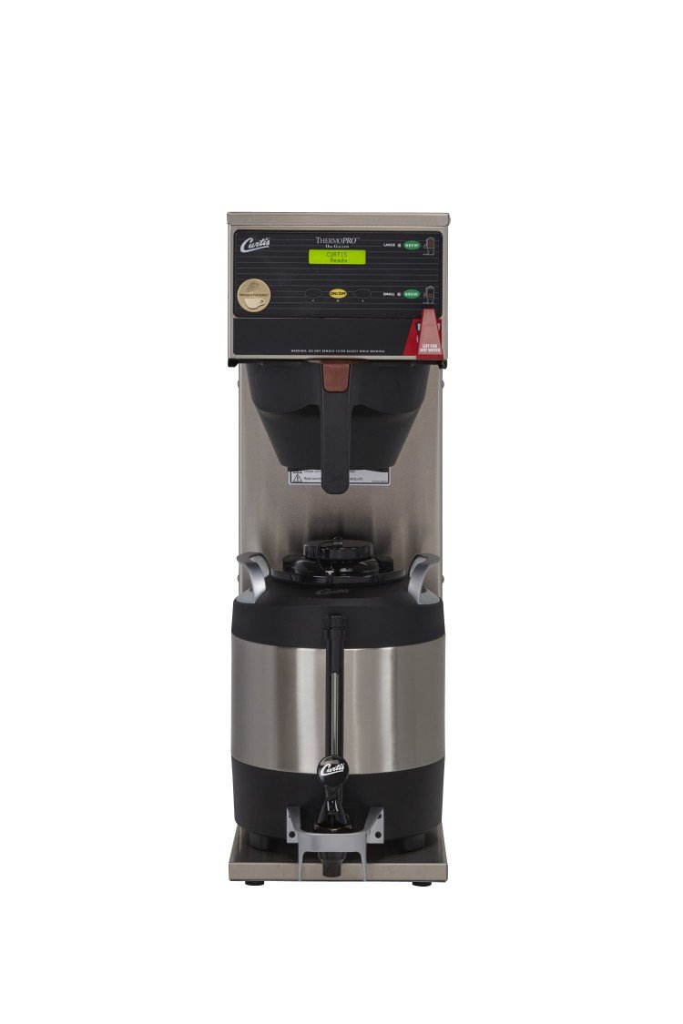 Wilbur Curtis G3 ThermoPro 1.0 Gallon Single Coffee Brewer, Dual Voltage - Commercial Coffee Brewer  - TP1S63A3000 (Each)