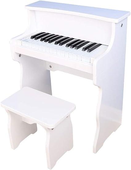 LIUFS-El teclado Piano Niños Principiantes Madera Pequeño ...