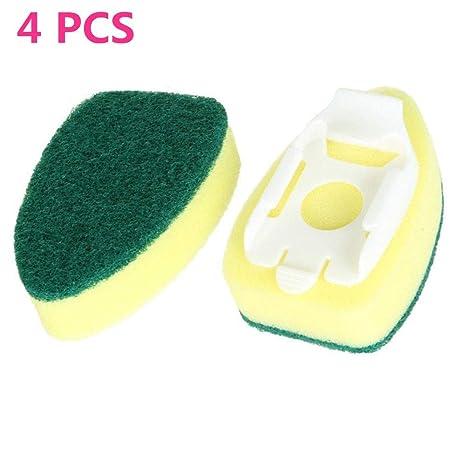 Amazon.com: Paquete de 4 recambios de esponja para ...