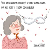 Collar infinito Te Quiero Abuela Plata de Ley 925 | Joyas para regalar | Regalo Envío gratis