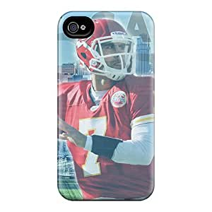 Fashionable PbYovFm5292gEqZb Iphone 4/4s Case Cover For Kansas City Chiefs Protective Case