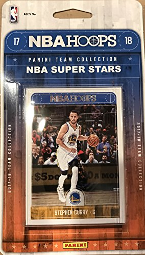 2017 2018 Hoops NBA All Stars Collection Special Edition Factory Sealed Basketball Set with Lebron James of the Cleveland Cavaliers and Stephen Curry and Kevin Durant of the Warriors Plus