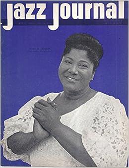 Jazz Journal Magazine (April 1961 - Cover: Mahalia Jackson