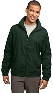RFT by Rainforest Mens Windowpane Quilted Walking Jacket Black Large Rainforest Mens Outerwear 229