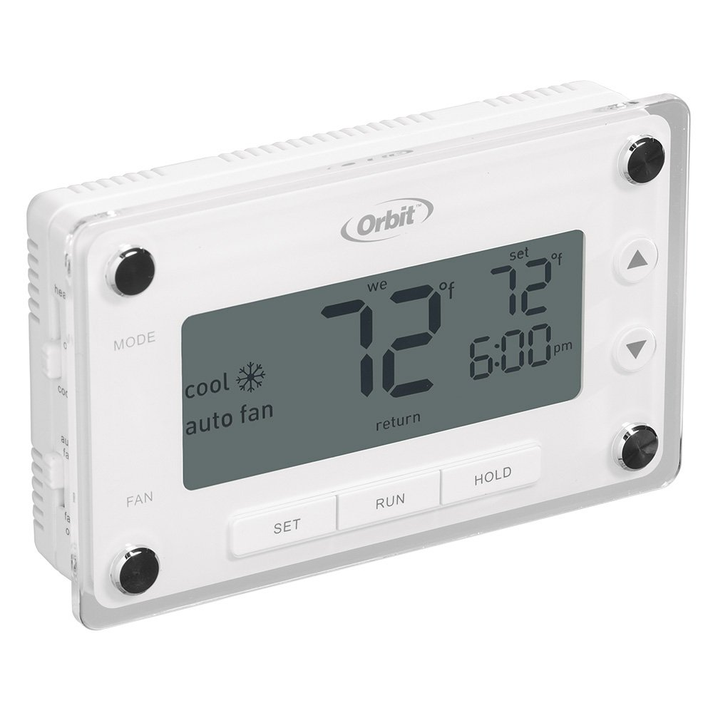 51%2BA1nagG8L._SL1000_ orbit 83521 clear comfort programmable thermostat with large, easy Digital Clock Parts at bakdesigns.co
