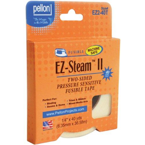 Pellon EZ Steam II 1/4X40 Yards Tape-White