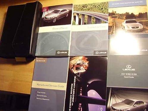 2007 lexus is250 is 250 owners manual lexus amazon com books rh amazon com 2010 lexus is 250 owners manual pdf free 2007 lexus is 250 owners manual pdf
