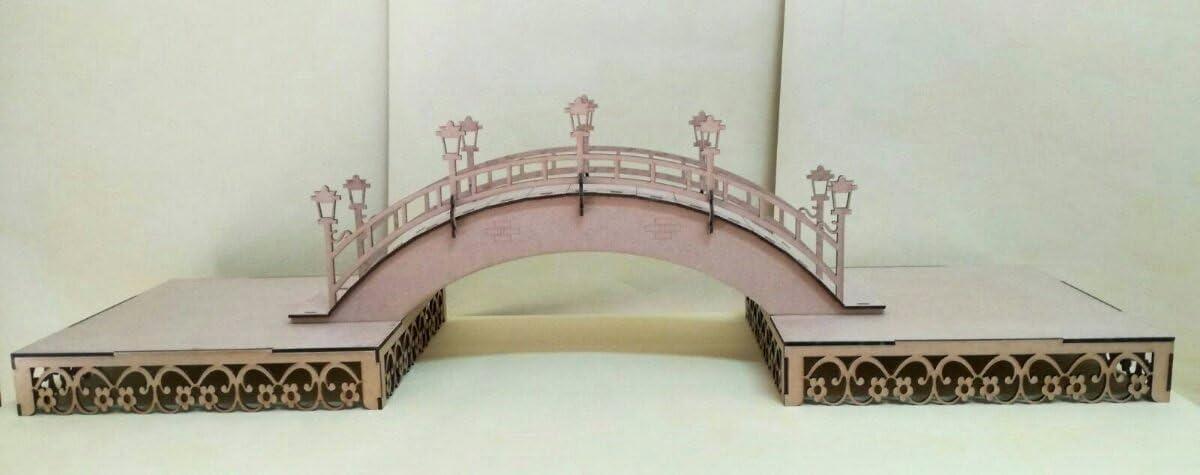 Kit para hacer bandejas + puente de madera DM para candy bar mesa ...