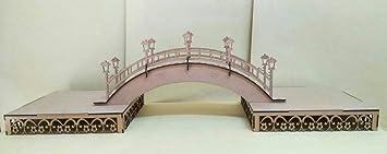 Kit para hacer bandejas + puente de madera DM para candy bar mesa dulce. Manualidades