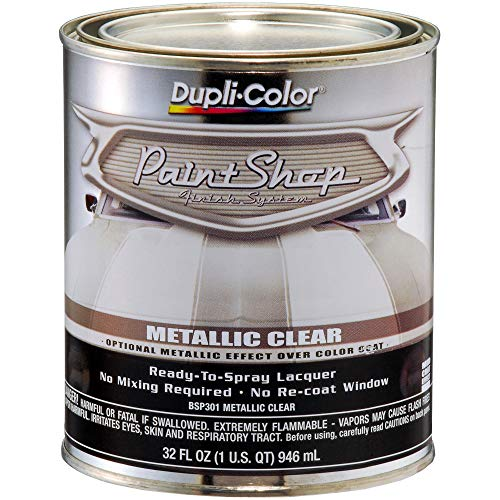 Dupli-Color BSP301 Metallic Clear Coat Paint Shop Finish