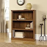 Sauder 410372 Sauder Select 3-Shelf Bookcase, Oiled Oak Finish