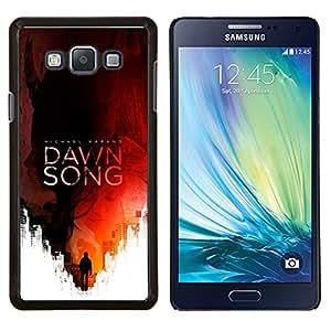 LECELL--Funda protectora / Cubierta / Piel For Samsung Galaxy A7 A7000 -- Lectura Canción Cubierta del libro Red Man --