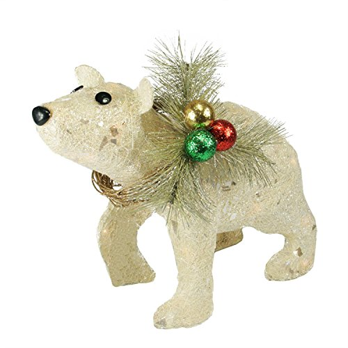 Outdoor Lighted Polar Bear Decorations - 8