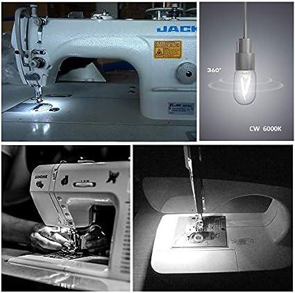 Ampoule E14 LED 2W LED pour R/éfrig/érateur 200LM /Équivalent E14 15W Incandescent lot de 2 T22 230V Blanc Froid 6000K Petit E14 LED Filament Vintage pour Frigo//Veilleuse Enfants//Lampe de Sel