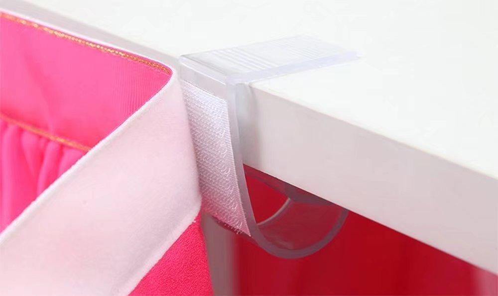 Cedmon Tischsockelleisten Clips Tischklammern f/ür Tisch 1,9 cm 3,8 cm 24 St/ück
