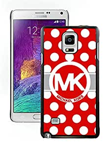 MK55W Unique skin Design with MK's Samsung Galaxy Note 4 N910A N910T N910P N910V N910R4 Black Case T2 025