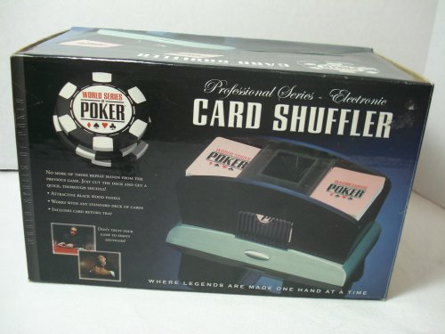 Excalibur Electronics 425W-WS-BB World Series of Poker Professional Series Electronic Card Shuffler by Excalibur Electronics