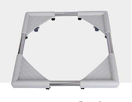Base Ajustable móvil Multifuncional para Secadora, Lavadora y ...