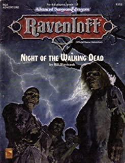 Cover of RQ1 Night of the Walking Dead