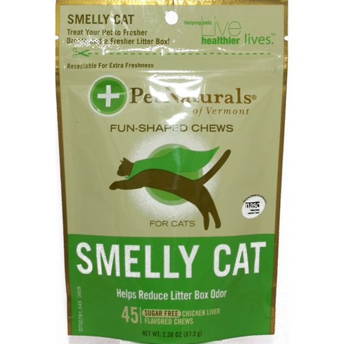Picture of Pet Naturals of Vermont, clean scat, 45 Sugar Free chicken Liver, 2.38oz.