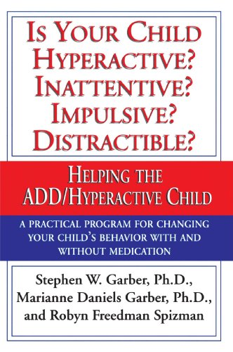 Is Your Child Hyperactive? Inattentive? Impulsive? Distractible?: Helping the ADD/Hyperactive Child