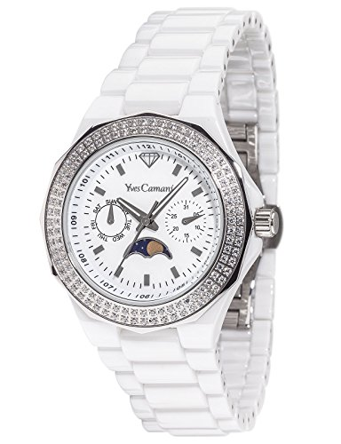 Yves Camani Laval YC1009-E Ladies Watch Quartz Analogue Ceramic White