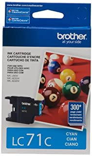 Brother LC71CS Genuine Cyan Ink Cartridge (B005I95INC) | Amazon Products