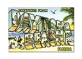 Greetings from Daytona Beach Florida Fridge Magnet