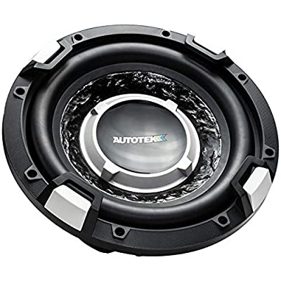"Autotek(r) AUTSSW10D4 SUPER SPORT Series Dual Voice-Coil Subwoofer (10""): Automotive"