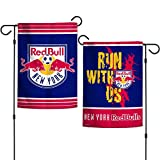 WinCraft New York RedBull Double Sided MLS Garden Flag Licensed Soccer 12.5'' X 18''
