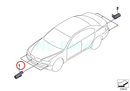 Amazon com: BMW Genuine Ultrasonic-Sensor: Automotive