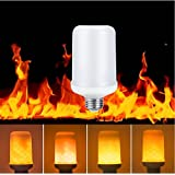 Topled Light Led Flame Bulbs- E26 Standard Base Flickering Fire Atmosphere Decorative Lamps for Hotel/ Bars/ Home Decoration/ Restaurants (Fire Up)
