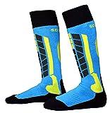 Winter Ski Socks,Kids Snowboard Warm Hiking Knee Socks Over The Calf OTC High Performance for Girls and Boys