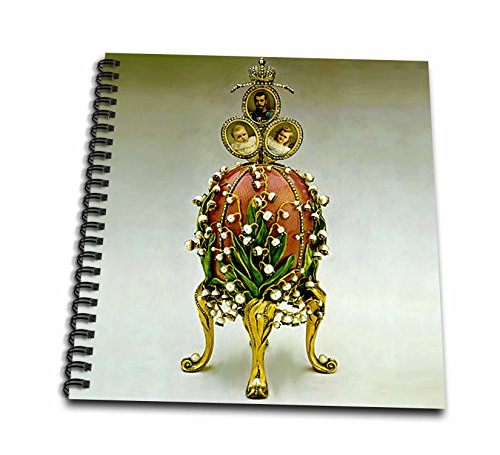 Faberge® Eggs - Picturing Faberge® Egg Lilies Of The Valley - Memory Book 12 x 12 inch (db_565_2)