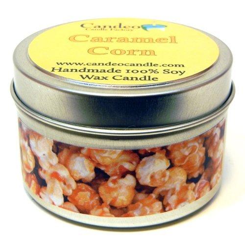 【格安saleスタート】 (120ml) - Caramel (120ml) Corn 120ml, Super Caramel Soy Scented Soy Candle Tin 4oz B00A6HXMB6, ah oui:b4c80fb7 --- arianechie.dominiotemporario.com