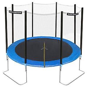 Ultrasport Gartentrampolin Jumper inkl. Sicherheitsnetz, Blau, 305 cm, SUTP02