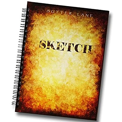 Sketchbook Drawing Pad for Mixed Media - Blank Spiral Bound Artist Sketch Journal - Premium Paper Perfect for Pencil, Watercolors, Markers, Art Projects, Kids & Gifts by Sutter Lane
